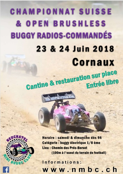 CS E8OR & Open Race Brushless Juin 2018
