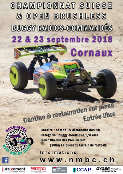 CS E8OR & Open Race Brushless Septembre 2018